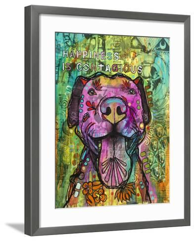 Happiness is Contagious-Dean Russo- Exclusive-Framed Art Print