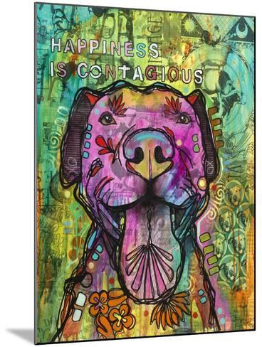 Happiness is Contagious-Dean Russo- Exclusive-Mounted Giclee Print