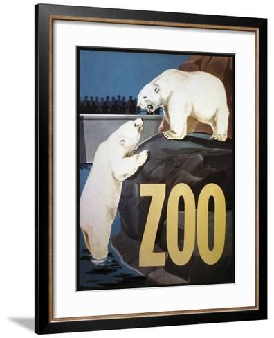 The Zoo 003-Vintage Lavoie-Framed Art Print