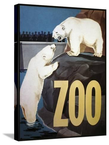 The Zoo 003-Vintage Lavoie-Stretched Canvas Print
