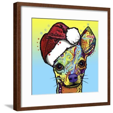 Chihuahua Christmas-Dean Russo-Framed Art Print