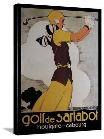 Travel Sports 005-Vintage Lavoie-Stretched Canvas Print