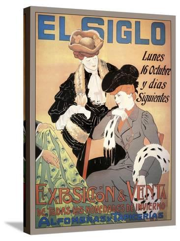 Travel Expos 0118-Vintage Lavoie-Stretched Canvas Print