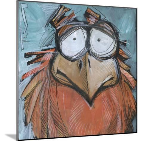 Square Bird 08a-Tim Nyberg-Mounted Giclee Print