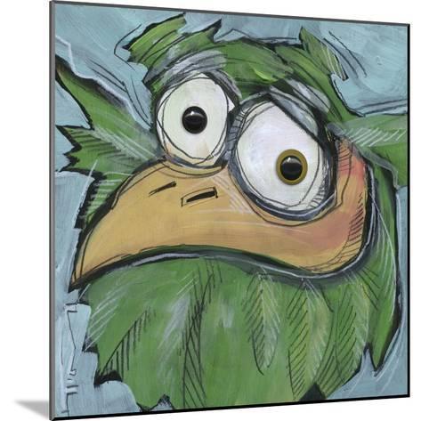 Square Bird 06b-Tim Nyberg-Mounted Giclee Print