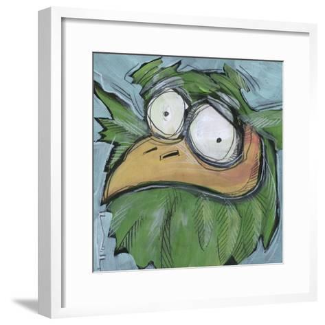 Square Bird 06a-Tim Nyberg-Framed Art Print