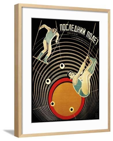 Last Flight 1929-Vintage Lavoie-Framed Art Print