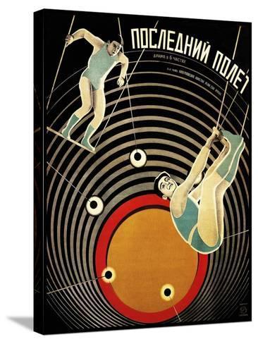 Last Flight 1929-Vintage Lavoie-Stretched Canvas Print