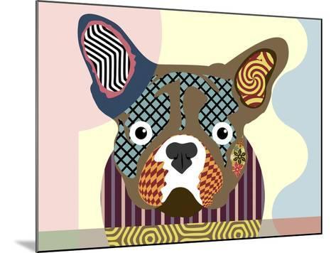 French Bulldog-Lanre Adefioye-Mounted Giclee Print