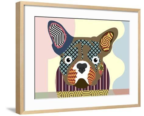 French Bulldog-Lanre Adefioye-Framed Art Print