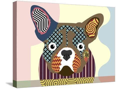 French Bulldog-Lanre Adefioye-Stretched Canvas Print