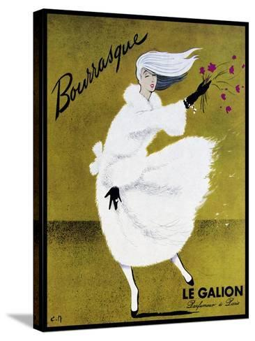 Bourrasque Eau Le Galion-Vintage Lavoie-Stretched Canvas Print