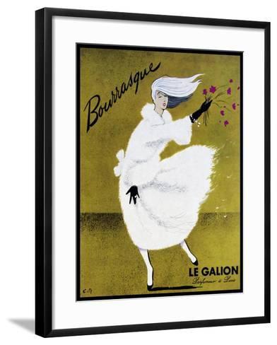 Bourrasque Eau Le Galion-Vintage Lavoie-Framed Art Print
