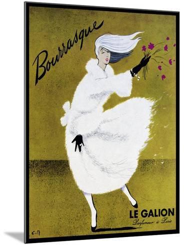 Bourrasque Eau Le Galion-Vintage Lavoie-Mounted Giclee Print