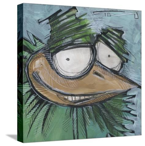 Square Bird 13a-Tim Nyberg-Stretched Canvas Print