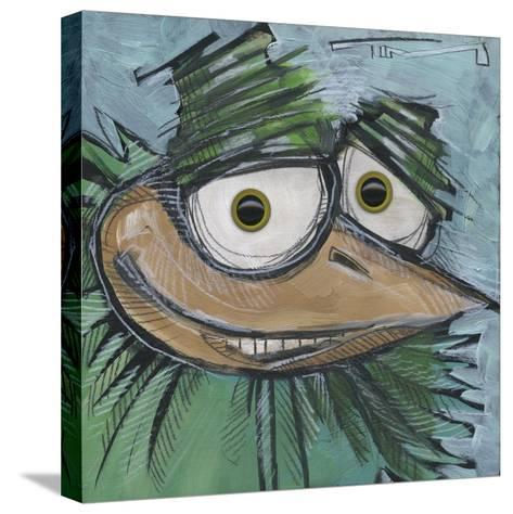 Square Bird 13b-Tim Nyberg-Stretched Canvas Print