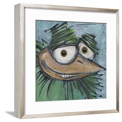 Square Bird 13b-Tim Nyberg-Framed Art Print
