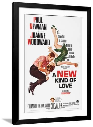 A New Kind of Love--Framed Art Print