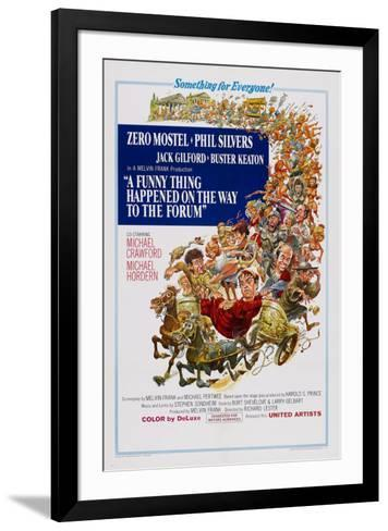 A Funny Thing Happened on the Way to the Forum--Framed Art Print