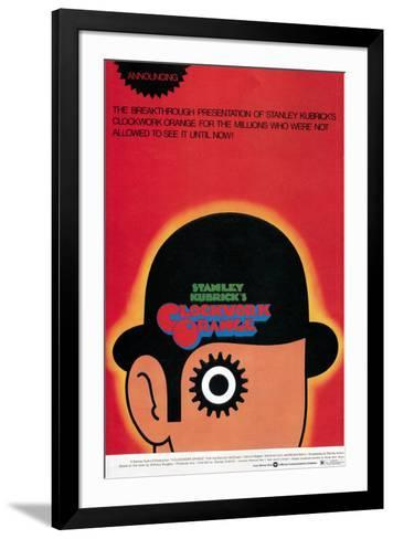 A Clockwork Orange, Poster, 1971--Framed Art Print