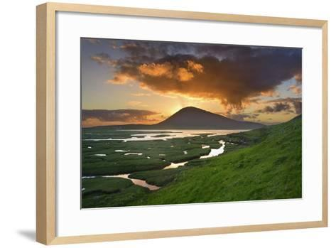 Mountain Rays-Michael Blanchette Photography-Framed Art Print