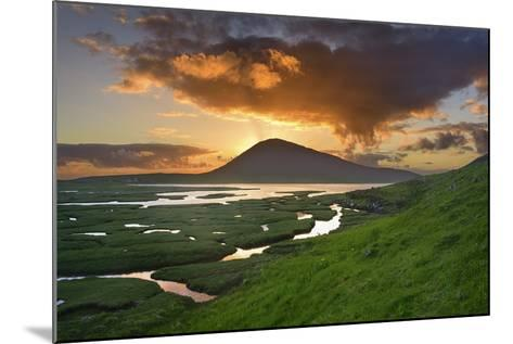 Mountain Rays-Michael Blanchette Photography-Mounted Photographic Print