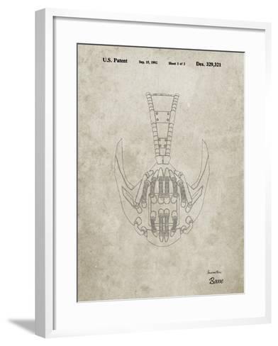 PP39 Sandstone-Borders Cole-Framed Art Print