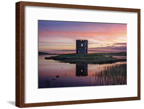 Towering Sunset-Michael Blanchette Photography-Framed Art Print