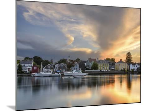 Sunset on the Piscataqua-Michael Blanchette Photography-Mounted Photographic Print