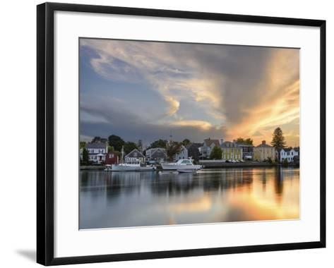 Sunset on the Piscataqua-Michael Blanchette Photography-Framed Art Print