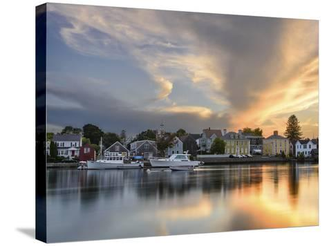 Sunset on the Piscataqua-Michael Blanchette Photography-Stretched Canvas Print