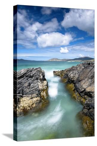 Turquoise Rush-Michael Blanchette Photography-Stretched Canvas Print