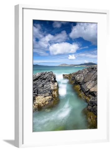Turquoise Rush-Michael Blanchette Photography-Framed Art Print