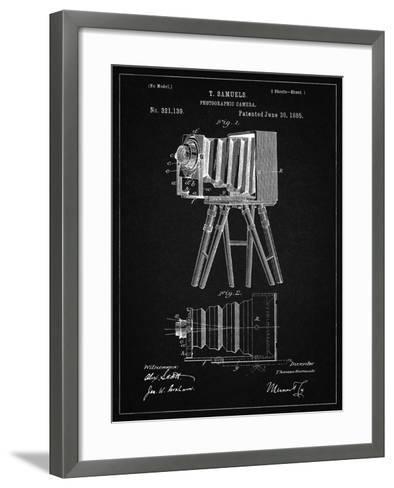 PP33 Vintage Black-Borders Cole-Framed Art Print