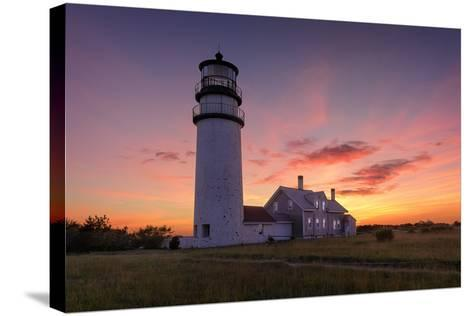 Cape Cod Sunset-Michael Blanchette Photography-Stretched Canvas Print