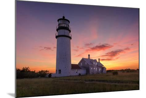 Cape Cod Sunset-Michael Blanchette Photography-Mounted Photographic Print