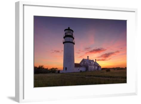 Cape Cod Sunset-Michael Blanchette Photography-Framed Art Print