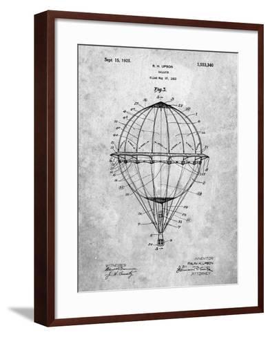 PP36 Slate-Borders Cole-Framed Art Print
