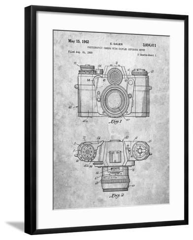 PP6 Slate-Borders Cole-Framed Art Print