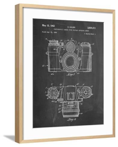 PP6 Chalkboard-Borders Cole-Framed Art Print