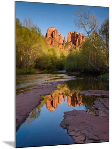 Cathedral Rock Reflection-Michael Blanchette Photography-Mounted Photographic Print