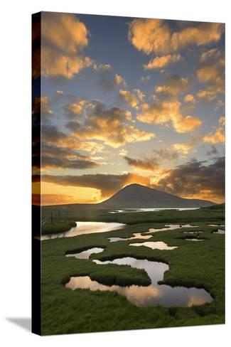 Mountain Rays I-Michael Blanchette Photography-Stretched Canvas Print