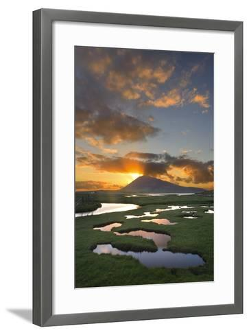 Mountain Rays II-Michael Blanchette Photography-Framed Art Print