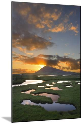 Mountain Rays II-Michael Blanchette Photography-Mounted Photographic Print