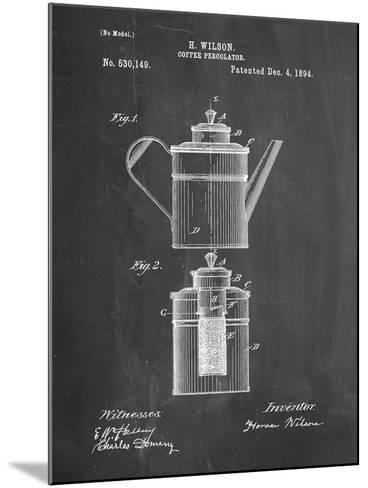 PP27 Chalkboard-Borders Cole-Mounted Giclee Print