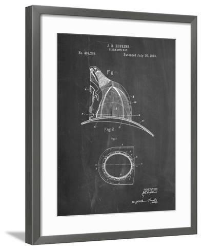 PP38 Chalkboard-Borders Cole-Framed Art Print