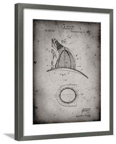 PP38 Faded Grey-Borders Cole-Framed Art Print