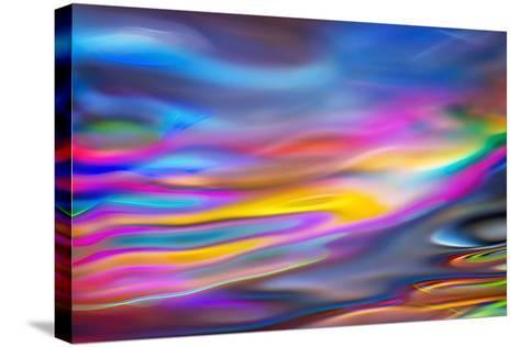 River Flow-Ursula Abresch-Stretched Canvas Print