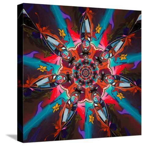 Variations On A Circle 49-Philippe Sainte-Laudy-Stretched Canvas Print