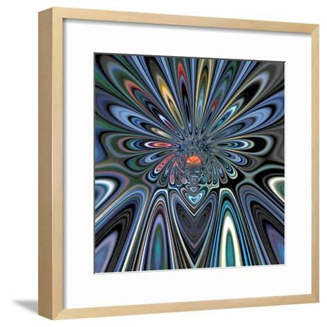Variations On A Circle 47-Philippe Sainte-Laudy-Framed Art Print